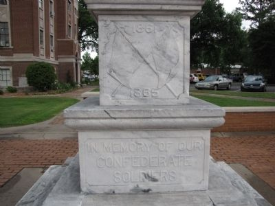 Lonoke County Confederate Monument image. Click for full size.