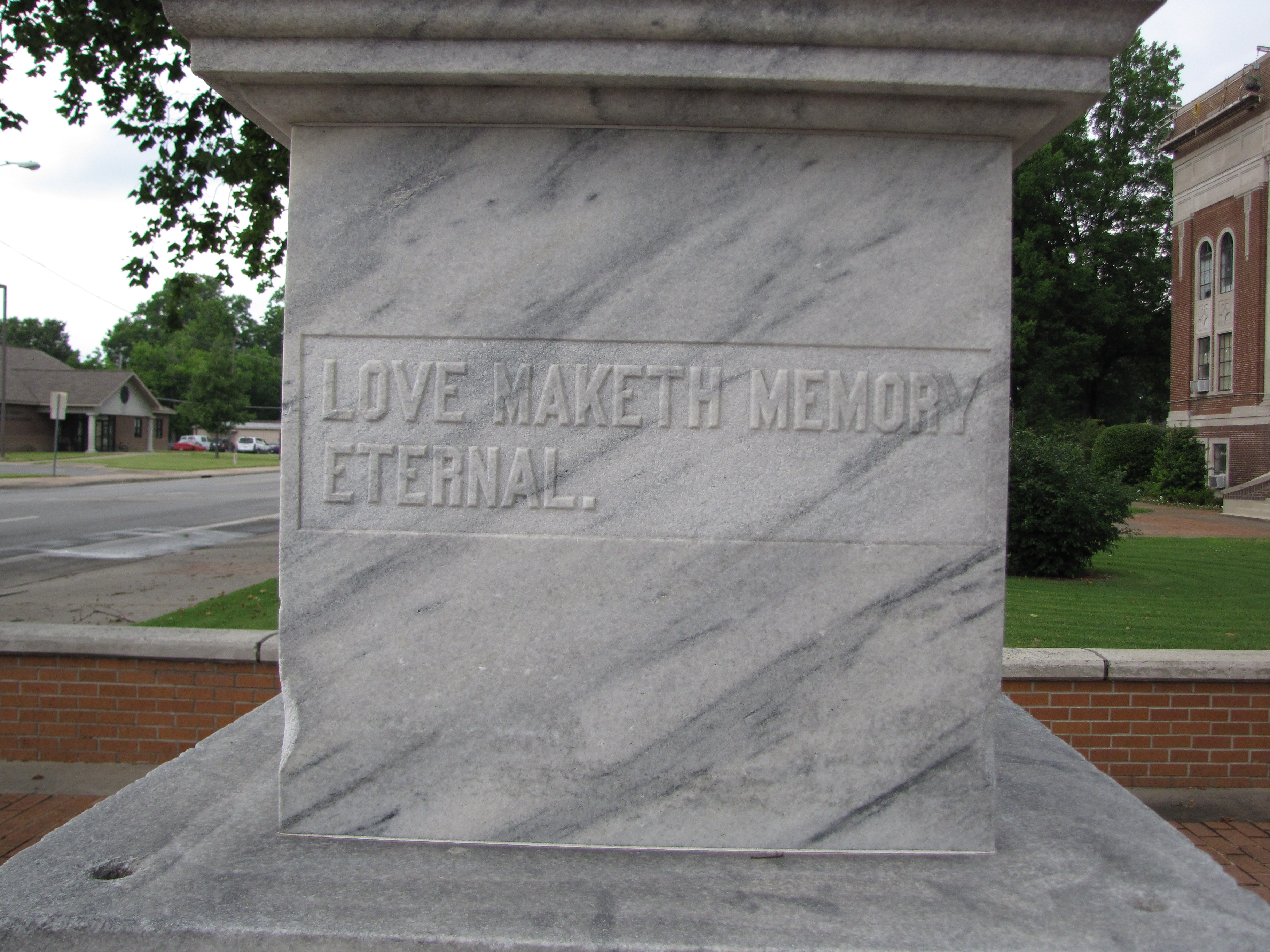 Lonoke County Confederate Monument