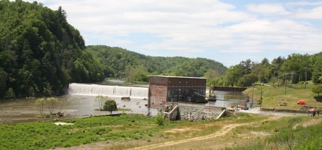 The Washington Mills Dam 103 Years Later image. Click for full size.