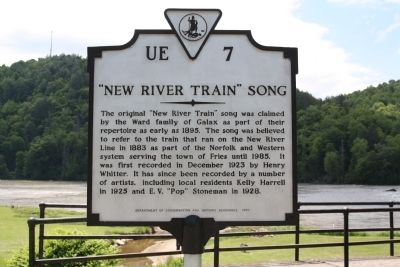 """New River Train"" Song Marker image. Click for full size."