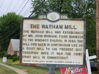 The Warham Mill Marker image. Click for full size.