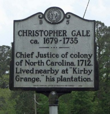 Christopher Gale Marker image. Click for full size.
