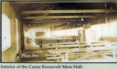 Interior of the CampRoosevelt Mess Hall image. Click for full size.