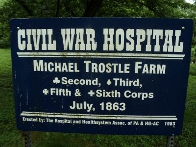 Michael Trostle Farm Marker image. Click for full size.
