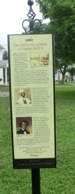 The Anti-Slavery Community Marker image. Click for full size.