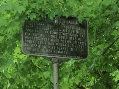 Factory Hollow Marker image. Click for full size.