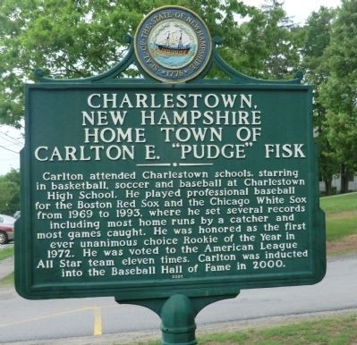 Charlestown, New Hampshire Marker image. Click for full size.