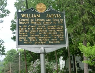 William Jarvis Marker image. Click for full size.