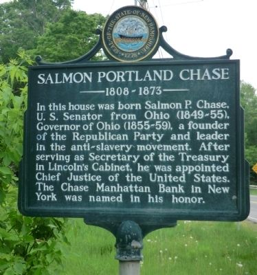 Salmon Portland Chase Marker image. Click for full size.