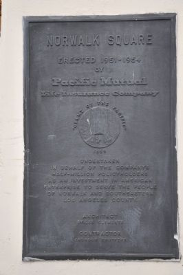 Norwalk Square Marker image. Click for full size.