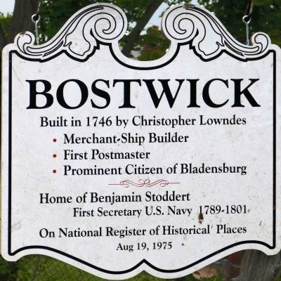 Bostwick Marker image. Click for full size.
