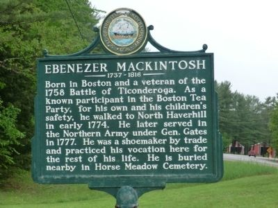 Ebenezer MacKintosh Marker image. Click for full size.
