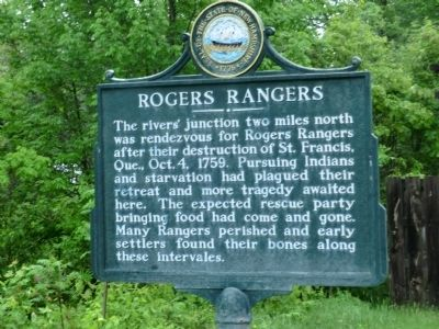 Rogers Rangers Marker image. Click for full size.