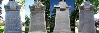 Inscriptions on Monument image. Click for full size.