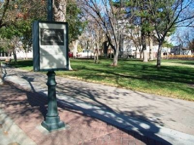 Stevens Park and Marker image. Click for full size.