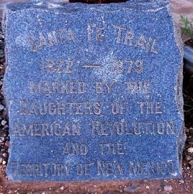 Santa Fe Trail image. Click for full size.