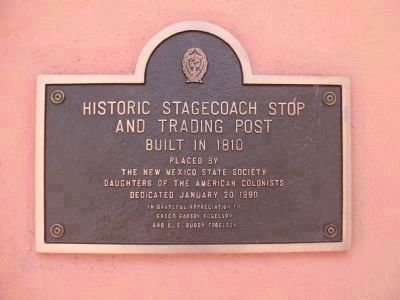 Kosloski's Historic Stagecoach Stop and Trading Post Marker image. Click for full size.