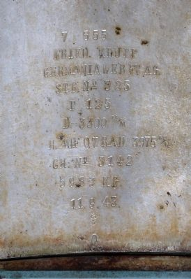 German Inscription image. Click for full size.