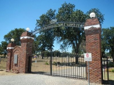 Marysville City Cemetery image. Click for full size.