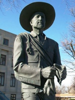 "Charles Jesse ""Buffalo"" Jones Statue image. Click for full size."