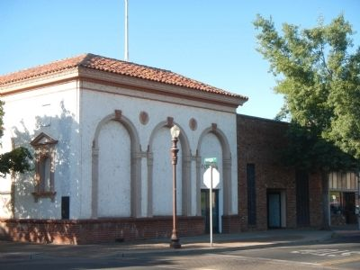 Site of First Oroville Bank image. Click for full size.