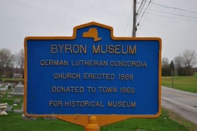 Byron Museum Marker image. Click for full size.