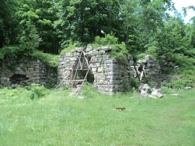 Long Pond Furnace Ruins image. Click for full size.