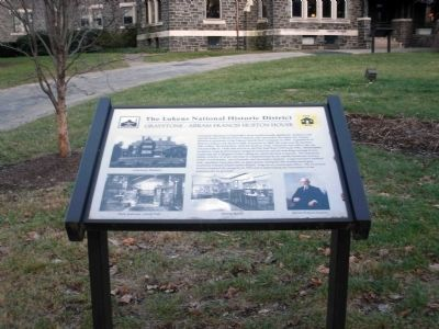 Graystone - Abram Francis Huston House Marker image. Click for full size.