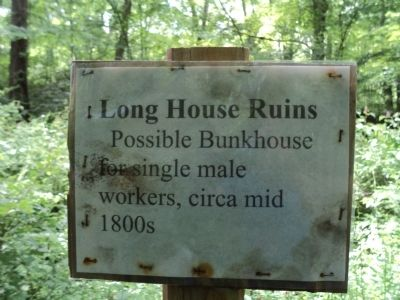 Long House Ruins Marker image. Click for full size.