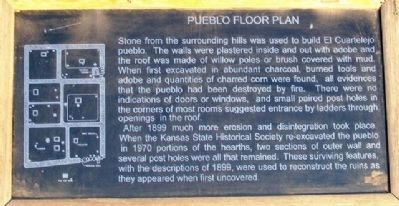 Pueblo Floor Plan Marker image. Click for full size.