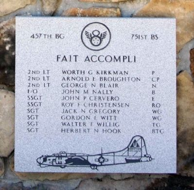 457th Bombardment Group 751st BS image. Click for full size.