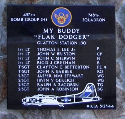 457th Bombardment Group 748th Squadron image. Click for full size.
