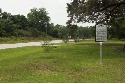 Badham House Marker looking west along US 78 image. Click for full size.