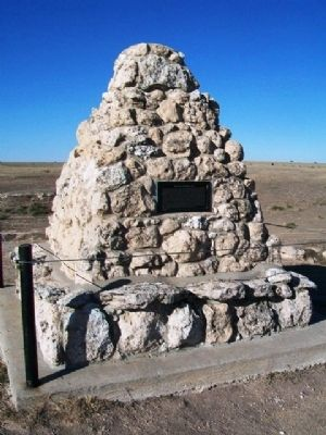 Battle Canyon, 1878 Monument image. Click for full size.