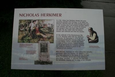 Nicholas Herkimer Marker image. Click for full size.