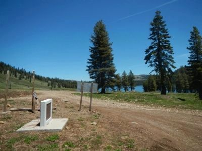 Summit City/Meadow Lake Marker image. Click for full size.