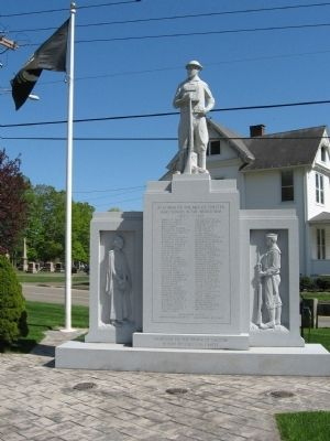 Chester World War I Monument image. Click for full size.