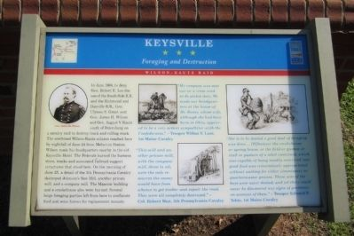 Keysville CWT Marker image. Click for full size.