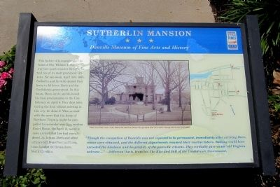 Sutherlin Mansion CWT Marker image. Click for full size.