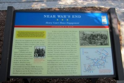 Near War's End CWT Marker image. Click for full size.