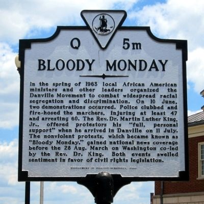 Bloody Monday Marker image. Click for full size.