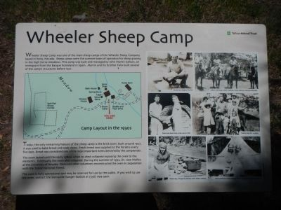 Wheeler Sheep Camp (Interperative Marker 9) image. Click for full size.