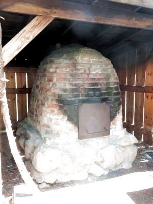Sheep Camp Bread Oven image. Click for full size.