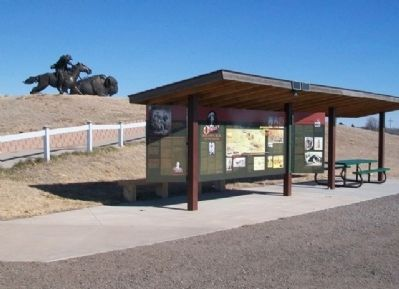 Buffalo Bill Cultural Center Kiosk image. Click for full size.
