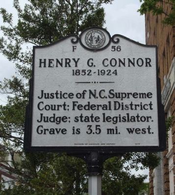 Henry G. Conner Marker image. Click for full size.