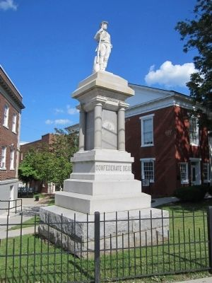 Pittsylvania County Confederate Monument image. Click for full size.