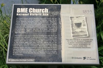 BME Church Marker image. Click for full size.