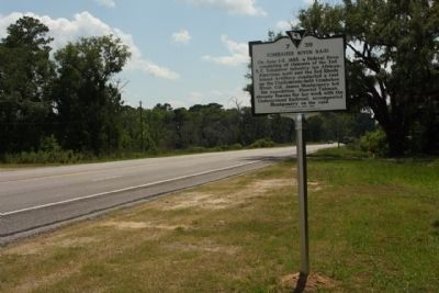 Combahee River Raid / Freedom Along The Combahee Marker, looking south along Charleston Highway image. Click for full size.