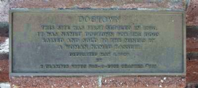 Dogtown Marker image. Click for full size.
