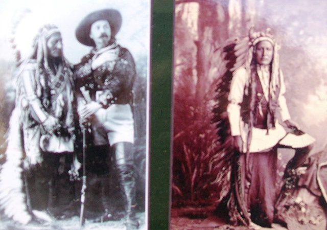 Photos on Inhabitants of the Kansas Plains Marker
